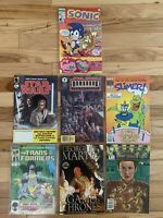 SONIC THE HEDGEHOG #3 COMIC HOT ARCHIE 1993 RARE HTF SEGA - Slimer 17 + 5 More