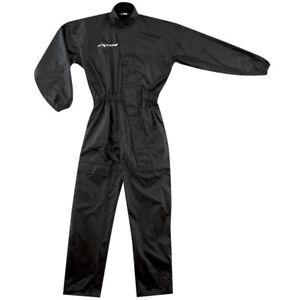Ixon R 8.1 Waterproof 1Piece Motorcycle Motorbike Oversuit - Black
