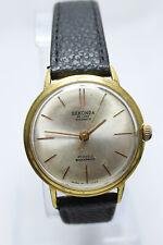 Sekonda De Luxe Automatic 29 J USSR Gold Plated Watch Cal. Poljot 2415 Orbita