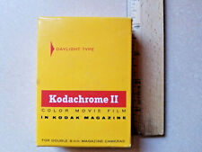 Kodachrome II Daylight Color Double 8mm Firm Roll Unopened ASA 25 Feet Expired