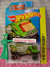 Case M/N 2015 i Hot Wheels AERO POD #104∞Green; Support Team∞Jungle Rally