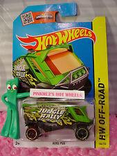 Case M/N 2015 i Hot Wheels AERO POD #104∞Green; Support Team∞Jungle Rally