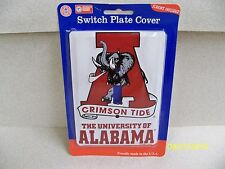 University of Alabama Crimson Tide NCAA football single light switch plate cover