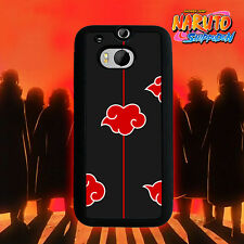 Akatsuki Naruto Red cloud for Htc One M7 Htc One M8 Htc Desire 816 Phone Case