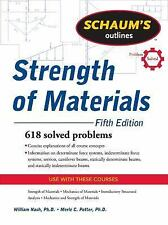 Schaum's Outline of Strength of Materials, Fifth Edition (Schaum's Outline Serie