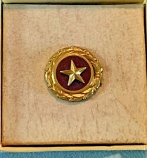 U.S. Mother'S Gold Star Mothers Pin Issued to Mothers who's Son killed in War