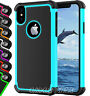 Heavy Duty Skin Fitted BUILDER Case Rubber Hard Tough For Apple iPhone XR XS 8 7