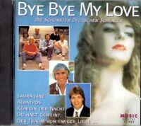 Bye Bye My Love-Die schönsten Deutschen Schlager (1995) Howard Carpendale.. [CD]