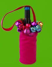 Christmas Wine Bottle Bag - Jingle Bells