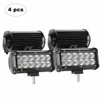 2PCS 4Inch 252W Combo Diffused Square LED Work Lights Off Road LED Cubes LED