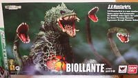 BANDAI S.H.Monster Arts Biollante Godzilla series Action Figure from Japan NEW