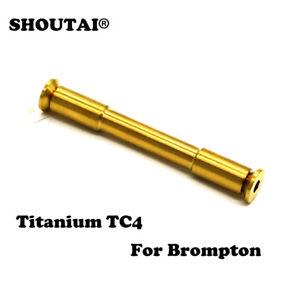 1PC Titanium Alloy Rear Fork Rotating Shaft Screw Tube for BROMPTON Bicycle Bike