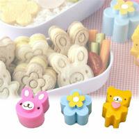 3Pcs Cartoon Animals Sandwich Mold DIY Moulds Cutter Bread Toast Cookies Biscuit