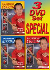 ATILLO BALINTAWAK ESKRIMA VOL-1-9 Special (Collectors Edition 3 Sets)