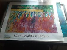 125th Preakness Stakes May 20th 2000 LeRoy Neiman Poster