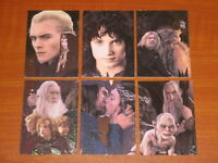Trading Card Base Sets LORD OF THE RINGS Fellowship, Two Towers, Hobbit, Thrones
