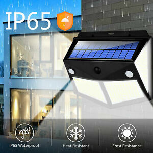 280 LED PIR Motion Sensor Solar Power Garden Light Outdoor Yard Lamp Waterproof