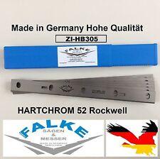 Zipper ZI-HB305 Abricht & Dickenhobel Hobelmesser (6 Stück) 310x22x1,8mm