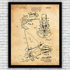 Wind Propelled Surfing Apparatus Patent Wall Art Print - Size and Frame Options