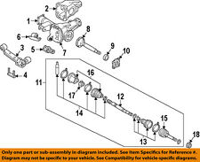 NISSAN OEM Carrier Front Axles-Axle Shaft Seal Right 4022731G00
