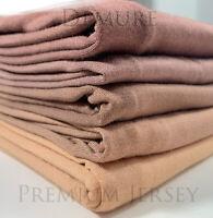 Jersey Hijab Scarf Premium Quality Elegant Maxi Stretchy Wrap Plain Shawl
