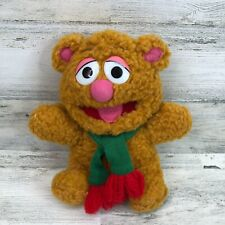 Vintage Jim Henson Baby Fozzie Bear Brown Stuffed Toy