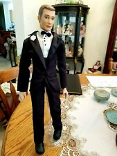 "18"" Dolls  Paradise Galleries Mike the Dashing Groom by Sandra Bilotto Doll"