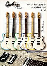More details for godin radiator hand-finished guitar advert- 1999 emd international advertisement
