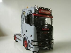 TEKNO SCANIA  S HIGHLINE TRACTOR UNIT- JENS BODE- 1:50 SCALE.