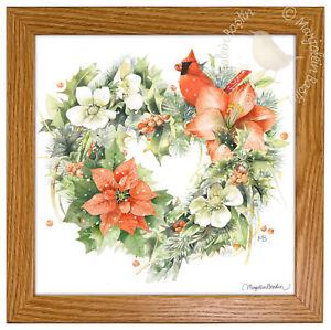 Marjolein Bastin Season For Love 9 x 9 Framed Print (Light Oak Frame)