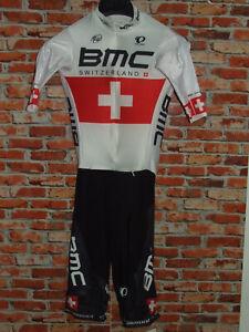 MAGLIA + PANTS COMPLETO BICI CICLISMO SHIRT CYCLISM BMC PEARL IZUMI NUOVO tg. M
