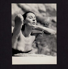 NUDE BEAUTY'S NIPPLE SLIP AKT STUDIE IM FREIEN OOPS * Vintage 60s ÁGOSTON Photo