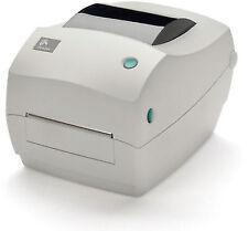 Zebra GC420 Direct Thermal Desktop Printer - White