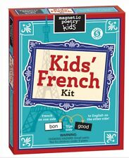 Magnetic Poetry ~ KIDS' FRENCH ~ Fun Magnetic Word Tiles