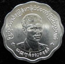 Myanmar Burma 5 Pyas 1966  BU