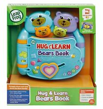 Leap Frog Hug & Learn Bears Book VTech Interactive Educational Learning Toys 6+m