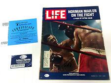 Muhammad ALI & Joe FRAZIER Signed LIFE Magazine with Online Authentics COA AFTAL
