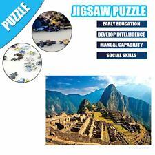 Machu Picchu Jigsaw Puzzle 1000 Pieces Landscape Picture Adult Kids Educational