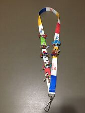 EBAY LIVE! 2007 BOSTON LANYARD AND 7 ASSORTED LAPEL PINS EXCELLENT LOT #2