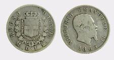 pci4475) VITTORIO EMANUELE II (1861-1878) 1 LIRA STEMMA 1863 MI AR