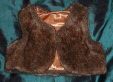 gold/fur bolero age 9-12 months