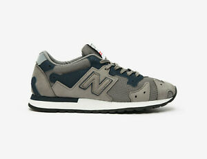 New Balance R770 Made in England Mens Trainers in Grey