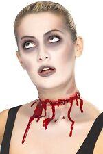 Barbed Wire Split Scar Adult Unisex Smiffys Fancy Dress Costume Accessory
