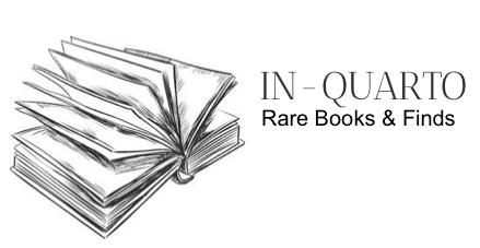 IN-QUARTO, Rare Books & Finds