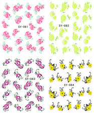 New Manicure Tips For Nail Art Decoration Water Transfer Decals SY0081BF0341