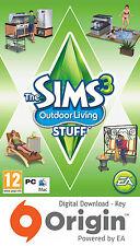 Los Sims 3 vida al aire libre cosas Pack de PC y Mac Origin Clave