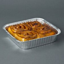 """8""""x 8""""Aluminum Foil Pan Disposable for Baking Pastries, Brownie**Free Shipping**"""