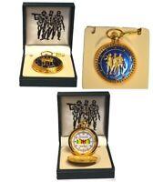 Vietnam War Memorial Commemorative Pocket Watch - US Military, Army, Nam, POW
