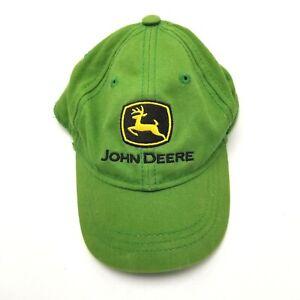 John Deere 4T/5T Tractors Farm Hat Cap Strapback Green Agriculture G4