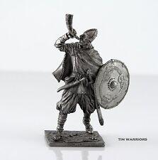 *Viking, 9-10 century* Tin toy soldier. 54mm miniature figurine. metal sculpture